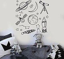 Wandtattoo Aufkleber Tapete Astronomischer Raum