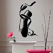 Wandtattoo Aufkleber Tapete Ballettschuhe Ballett