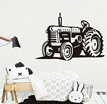 Wandtattoo Aufkleber Tapete Cartoon Farm Traktor
