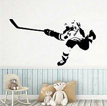 Wandtattoo Aufkleber Tapete Diy Spielen Eishockey