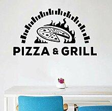 Wandtattoo Aufkleber Tapete Pizzeria Pizza Grill