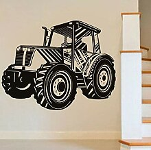 Wandtattoo Aufkleber Tapete Traktor Transport Hohl