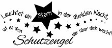 Wandtattoo-bilder® Wandtattoo Leuchtet ein Stern