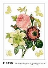 Wandtattoo Blumenstrauß Ebern Designs