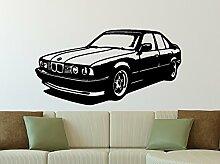 Wandtattoo BMW E34 M5 Größe XL