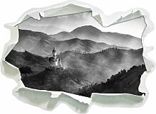 Wandtattoo Buddha-Bild im Tal der Dunkelheit East