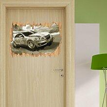 Wandtattoo Car ?Audi East Urban Home