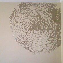 Wandtattoo Chrysantheme East Urban Home Farbe: