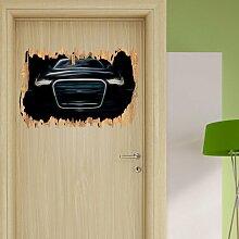 Wandtattoo Dark - - Audi A8 East Urban Home
