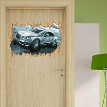 Wandtattoo Fahrender Audi East Urban Home