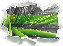 Wandtattoo Grüne Aloe Vera Pflanze East Urban Home