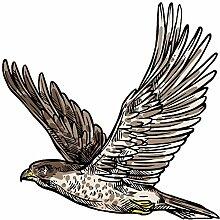 Wandtattoo Jugendzimmer Adler Wandsticker Tiere