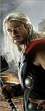 Wandtattoo Kinder Tür Avengers Thor OEM 15174, 83x204cm