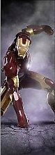 Wandtattoo Kinder Tür Iron Man OEM 719, 73x204cm