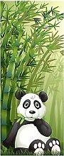 Wandtattoo Kinder Tür Panda OEM 1732, 93x204cm