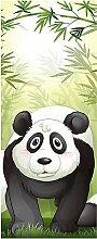 Wandtattoo Kinder Tür Panda OEM 1733, 63x204cm