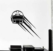Wandtattoo Kinderzimmer Football Helm Kopfstück