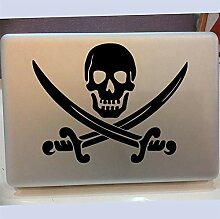 Wandtattoo Kinderzimmer Jolly Roger Laptop Fenster