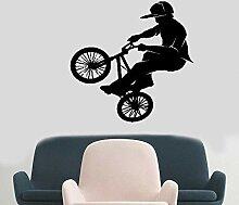 Wandtattoo Kinderzimmer Mode Fahrrad Fahrrad BMX