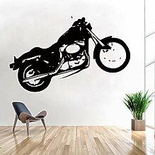 Wandtattoo Kinderzimmer Motorrad Motorrad Graffiti
