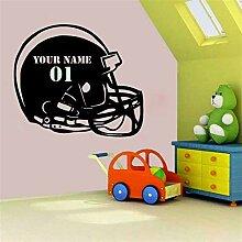 Wandtattoo Kinderzimmer Personalisierte Fußball