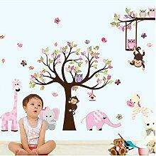 Wandtattoo Kinderzimmer Madchen Baum Gunstig Online Kaufen Lionshome