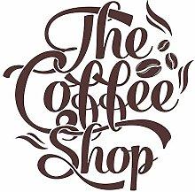 Wandtattoo Küche Coffee Shop Wandsticker
