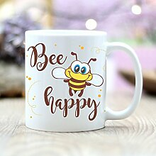 "Wandtattoo Loft Bedruckte Keramiktasse ""Bee"