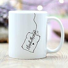 Wandtattoo-Loft Bedruckte Keramiktasse Kaffeetasse