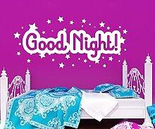 Wandtattoo Nacht Good Night Spruch Aufkleber