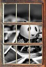 Wandtattoo Panda Figur zwischen Fotografien
