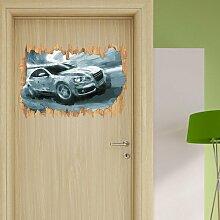 Wandtattoo Rasanter Audi
