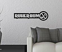 Wandtattoo Ruheraum Anschrift Wand Sticker