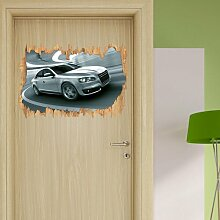 Wandtattoo Schneller Audi East Urban Home
