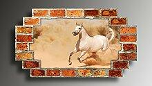 Wandtattoo selbstklebend Pferd Wandaufkleber