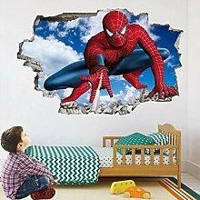 wandtattoo Spider Super Wandkunst Aufkleber