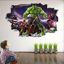 wandtattoo Superh Wandkunst Aufkleber Wandtattoo