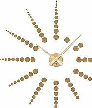 Wandtattoo Uhr Wanduhr Modernes Sonnen Design mit