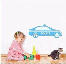 Wandtattoo Vinyl Aufkleber Auto Polizei Schützen