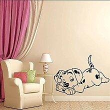 Wandtattoo Vinyl Hunde Aufkleber Dalmatiner
