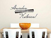 Wandtattoo Wandaufkleber für Küche Spruch