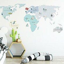 Wandtattoo Wandaufkleber Sticker Kinderzimmer 3D
