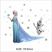 Wandtattoo Wandaufkleber Wandsticker Disney Frozen