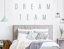 Wandtattoo Wandworte Dream Team Sprüche