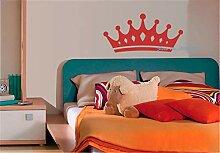 Wandtattoo Wohnzimmer Krone für Kinder