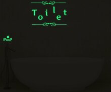Wandtattooe Toilette 17 Stories