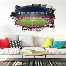 Wandtattoos - 3D Wandsticker - FCB Stadion Pack