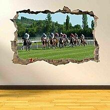 Wandtattoos Pferderennen Wandkunst Aufkleber