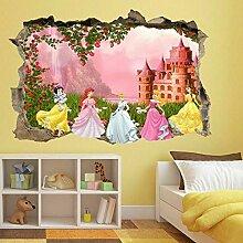 Wandtattoos Prinzessin CastleWhite Wandkunst