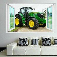 Wandtattoos Traktor Wandkunst Aufkleber
